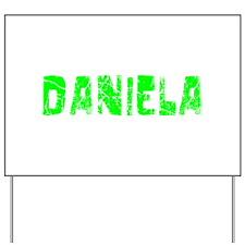 Daniela Faded (Green) Yard Sign