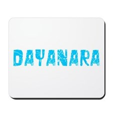 Dayanara Faded (Blue) Mousepad
