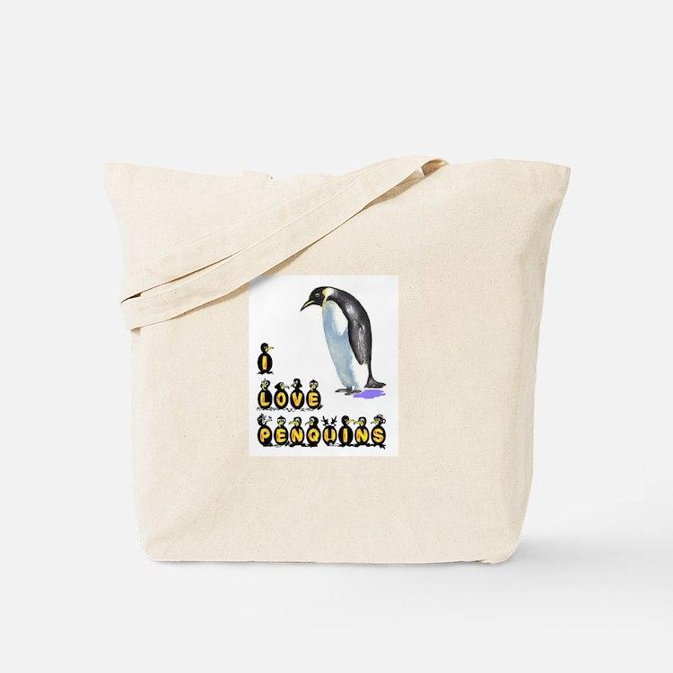 PENQUINS Tote Bag