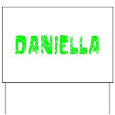 Daniella Faded (Green) Yard Sign