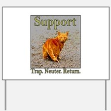 Support Trap Neuter Return Yard Sign