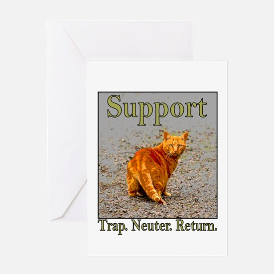 Support Trap Neuter Return Greeting Card
