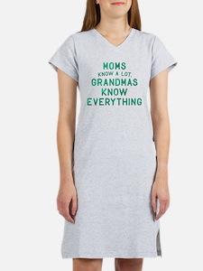 Grandmas Know Everything Women's Nightshirt