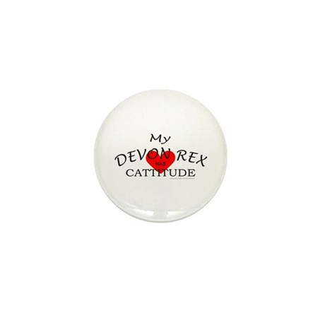 DEVON REX Mini Button (100 pack)