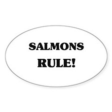 Salmons Rule Oval Decal
