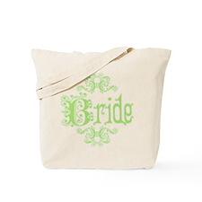 Green Fancy Bride Tote Bag