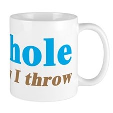 Cornhole Throw Mug
