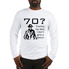 70th Birthday Long Sleeve T-Shirt