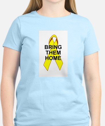 Bring Them Home Women's Pink T-Shirt