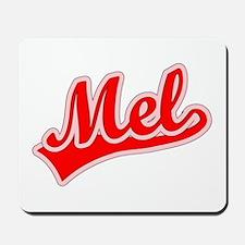 Retro Mel (Red) Mousepad