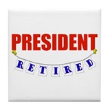 Boss retirement president Drink Coasters