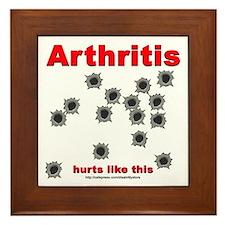 Arthritis Pain Framed Tile