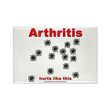Arthritis Pain Rectangle Magnet