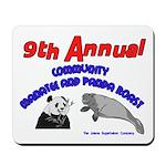 Annual Panda Manatee Roast Mousepad