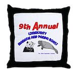 Annual Panda Manatee Roast Throw Pillow
