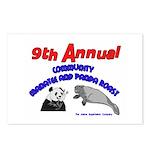 Annual Panda Manatee Roast Postcards (Package of 8