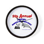 Annual Panda Manatee Roast Wall Clock