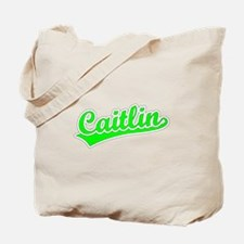 Retro Caitlin (Green) Tote Bag