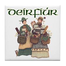 Sisters (Gaelic) Tile Coaster