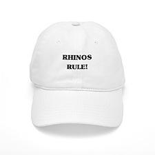 Rhinos Rule Baseball Cap