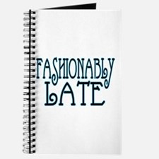 Fashionably Late Journal