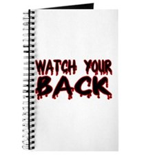Watch Your Back Journal