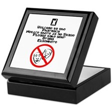 No Stage Keepsake Box