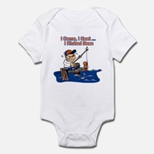 Fresh water fishing baby clothes gifts baby clothing for Fishing shirt onesie