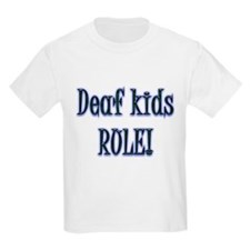 Deaf Kids Rule! T-Shirt