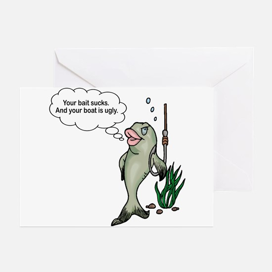 Fisherman Greeting Cards (Pk of 10)