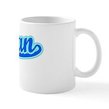 Retro Rowan (Blue) Mug