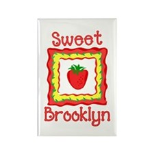 Sweet Brooklyn Rectangle Magnet