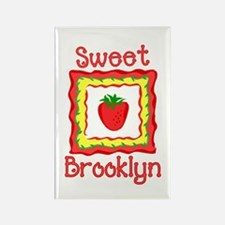 Sweet Brooklyn Rectangle Magnet