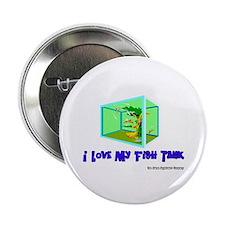 I Love My Fish Tank Button