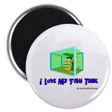 "I Love My Fish Tank 2.25"" Magnet (10 pack)"