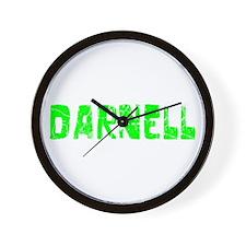 Darnell Faded (Green) Wall Clock