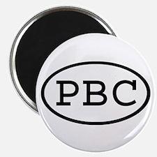 PBC Oval Magnet