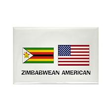 Cute Zimbabwe language Rectangle Magnet