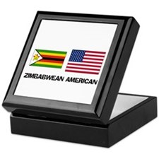 Funny Foreign born american Keepsake Box