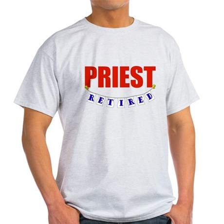Retired Priest Light T-Shirt