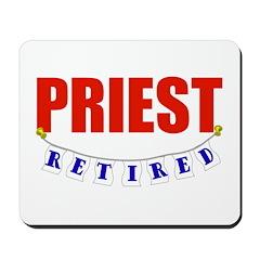 Retired Priest Mousepad