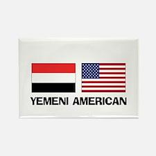 Yemeni American Rectangle Magnet