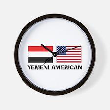 Yemeni American Wall Clock