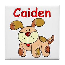 Caiden Puppy Tile Coaster