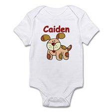 Caiden Puppy Infant Bodysuit