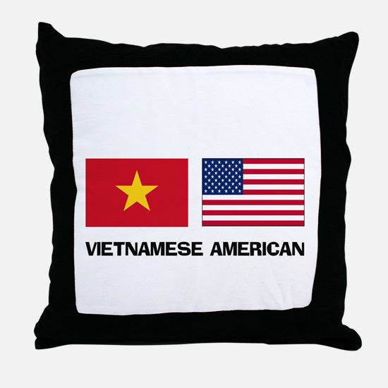 Vietnamese American Throw Pillow