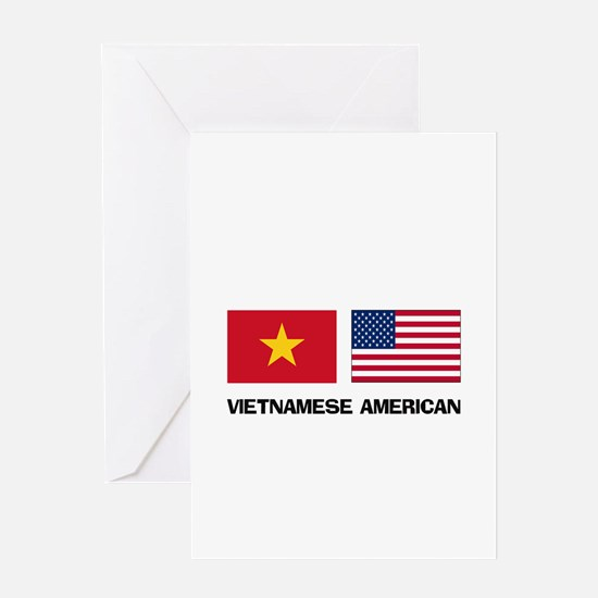 Vietnamese American Greeting Card