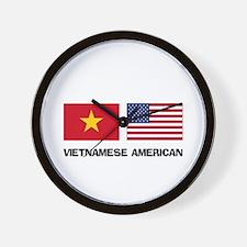 Vietnamese American Wall Clock