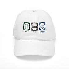 Eat Sleep Criminal Justice Baseball Cap