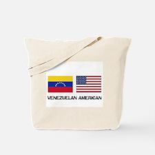 Venezuelan American Tote Bag
